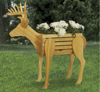 All Other Deer Cedar Planter Woodcraft Pattern