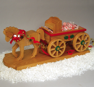 Horse Drawn Wagon Woodcraft Pattern