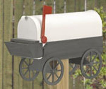 Covered Wagon Mailbox Woodcraft Pattern