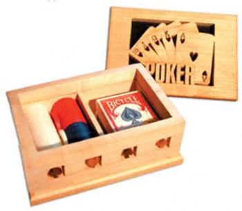 Poker Box Split Ring Box Project Pattern