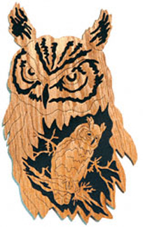 Great Horned Owl - Nature's Majesty Project Pattern