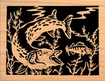 Fish Amp Marine Life Northern Pike And Yellow Perch