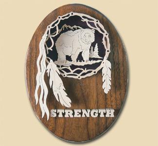 Strength/Bear Spirit Catcher Project Pattern
