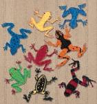 Funky Frogs Woodcraft Patterns