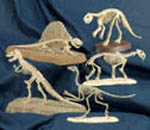 12 Mini Dinosaur Skeletons Project Patterns