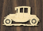 1914 Buick B-38 Coupe Project Pattern