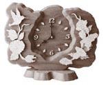 Desktop Hummingbird Clock Plaque Project Pattern
