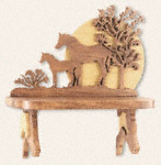 Horse Shelf Project Pattern