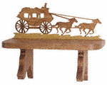 Stagecoach Shelf Project Pattern