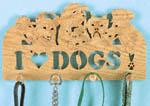 I Love Dogs Peg Rack #1 Project Pattern