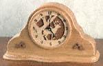 Deer Mantel Clock Project Pattern