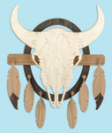 Southwest Buffalo Skull Project Pattern