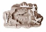 Deer Clock Plaque Project Pattern