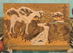 Horse Scene Puzzle Project Pattern