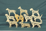 Puzzles - Dog Breeds #2 Project Pattern