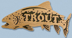 Wooden Fish - Trout Project Pattern