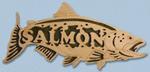Wooden Fish - Salmon Project Pattern