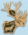 Nature's Majesty - Caribou Project Pattern