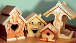 Whimsy Birdhouses Project Patterns