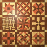 Geo-Shaped Wooden Quilt #2  Project Pattern
