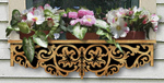 Scrolled Acanthus Window Box Project Pattern