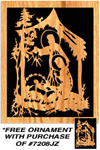 Nativity Trio Plaque w/ FREE Ornament Pattern!  Project Pattern
