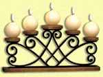 Wrought Iron Look Candelabra Project Pattern