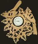 Cardinals Songbird Wall Clock Project Pattern