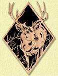 Whitetail Deer Diamond Project Pattern