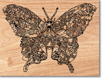 Tiger Swallowtail Project Pattern