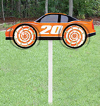 Race Car Whirly Wheelz Project Pattern
