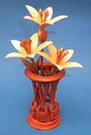 Mini Lilies & Vase Compound Cut Project Patterns