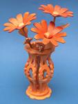 Mini Daisies & Vase Compound Cut Project Patterns