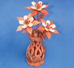 Mini Columbine & Vase Compound Cut Project Patterns