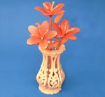 Compound Cut Mini Azaleas & Vase Project Patterns