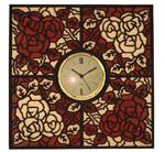 Romantic Rose Clock Project Pattern