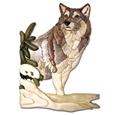 Winter Wolf Intarsia Project Pattern