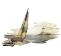 Sailing Home Intarsia Project Pattern