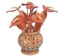 Compound Cut Anthuriums & Vase Project Pattern