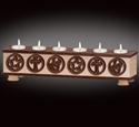 Old West 6-Tea Light Holder Project Patterns