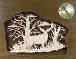 Woodland Retreat Clock Plaque Project Pattern