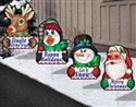 Cheerful Greetings Yard Art Set