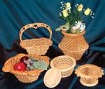 Decorative Baskets  #7 Project Patterns