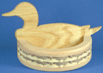 Duck Basket Design Project Pattern