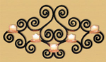Wall Mounted Candelabra Project Pattern
