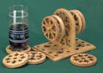 Poker Coasters Project Patterns