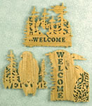 Wildlife Welcome Plaques #2 Project Patterns