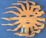Burning Sun Sconce Project Pattern