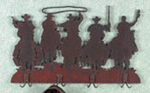 Cowboy Coat Rack Project Pattern