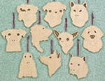 Dog Ornaments -  Project Patterns